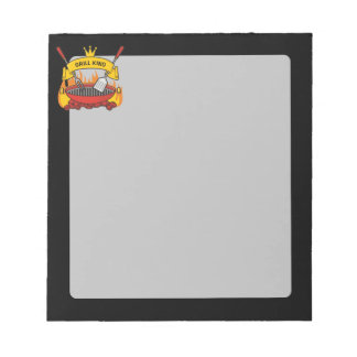 Grill King Notepad