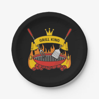 Grill King Paper Plate