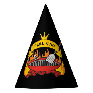 Grill King Party Hat