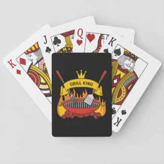Grill King Playing Cards