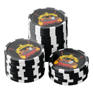 Grill King Poker Chips