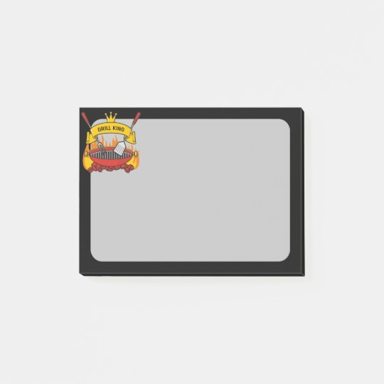 Grill King Post-it Notes