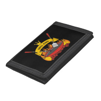 Grill King Trifold Wallets