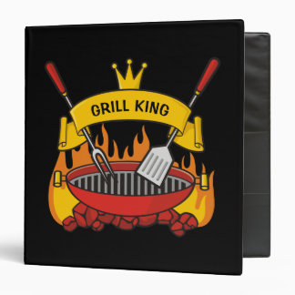Grill King Vinyl Binders