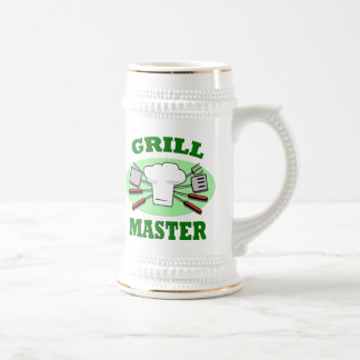 GRILL MASTER 18 OZ BEER STEIN
