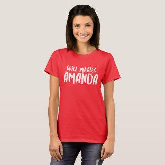 Grill Master Amanda T-Shirt