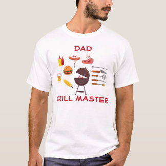Grill Master Barbecue Design T-Shirt