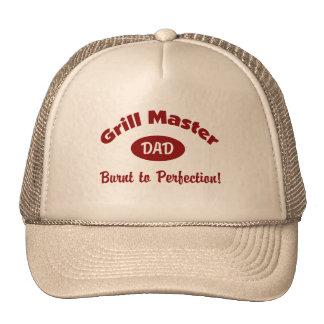 Grill Master Dad Mesh Hat