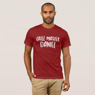 Grill Master Daniel T-Shirt