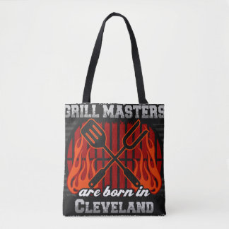 Grill Masters are Born in Cleveland Ohio Tote Bag