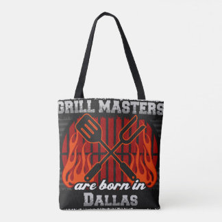 Grill Masters Are Born In Dallas Texas Tote Bag