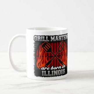 Grill Masters are Born in Illinois Coffee Mug
