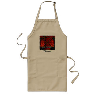 Grill Masters Are Born In June Personalized Long Apron