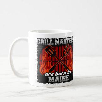 Grill Masters are Born in Maine Coffee Mug