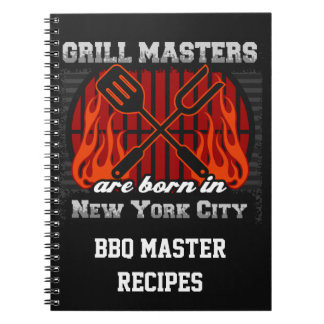 Grill Masters Are Born In New York City Notebook