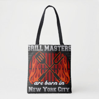 Grill Masters Are Born In New York City Tote Bag