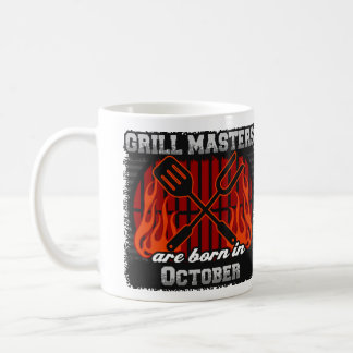 Grill Masters are Born in October Coffee Mug