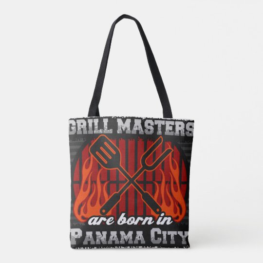 Grill Masters are Born in Panama City Florida Tote Bag