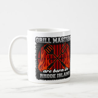 Grill Masters are Born in Rhode Island Coffee Mug