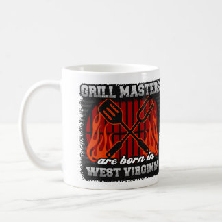 Grill Masters are Born in West Virginia Coffee Mug