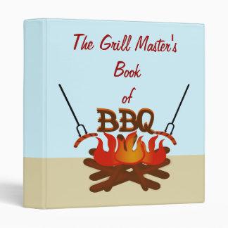 Grill Master's Outdoor BBQ Recipe Binder