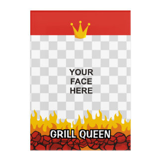 Grill Queen Acrylic Print