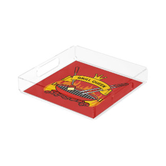 Grill Queen Acrylic Tray