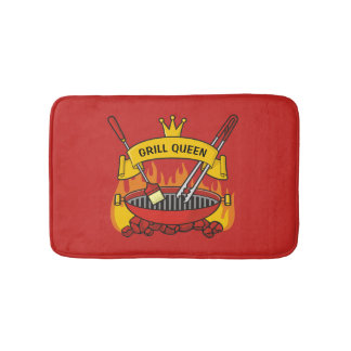 Grill Queen Bath Mat