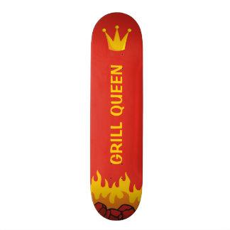 Grill Queen Crown Skateboard