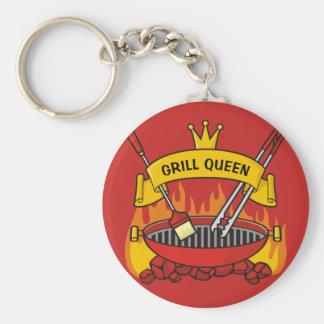 Grill Queen Keychain