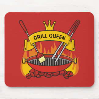 Grill Queen Mouse Pad