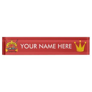 Grill Queen Nameplate