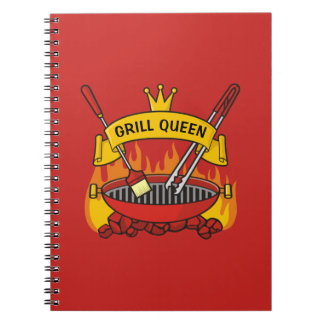 Grill Queen Notebook