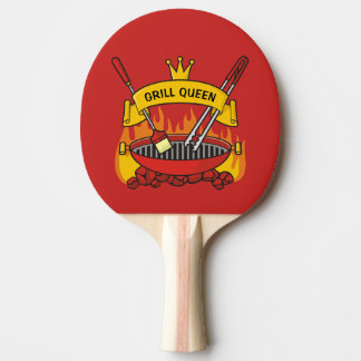 Grill Queen Ping Pong Paddle
