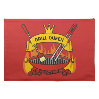 Grill Queen Placemat