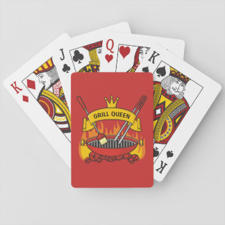 Grill Queen Playing Cards