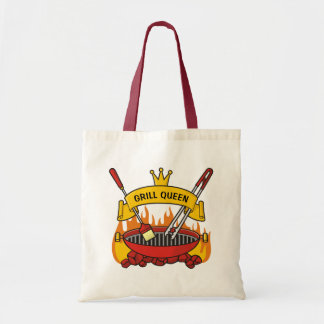 Grill Queen Tote Bag