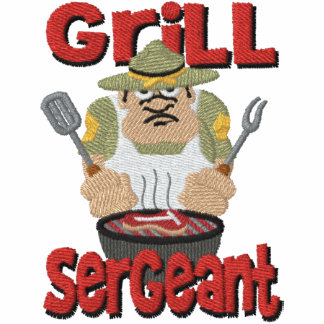Grill Sargent Barbeque Fun Hoodies