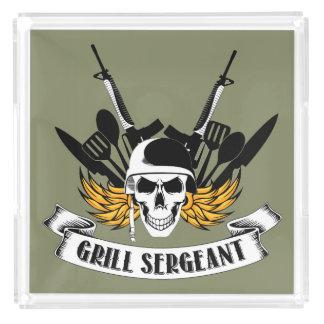 Grill Sergeant Acrylic Tray