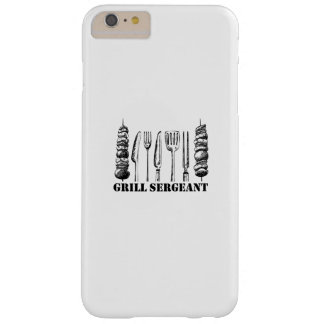 Grill Sergeant BBQ Grilling Hobby Funny  Men Women Barely There iPhone 6 Plus Case