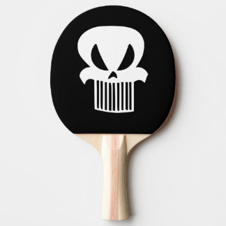 Grill Skull Ping Pong Paddle