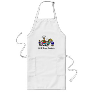Grill Team Captain Family BBQ Apron
