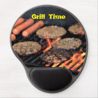 Grill Time Gel Mouse Pad