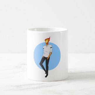 Grillby, in Snowdin Coffee Mug