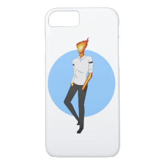 Grillby, in Snowdin iPhone 7 Case