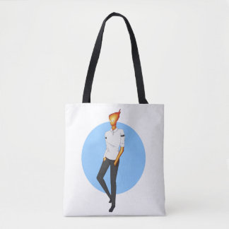 Grillby, in Snowdin Tote Bag