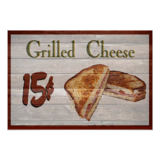 Grilled Cheese  Poster