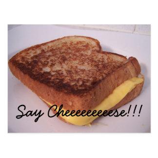 grilled cheese, Say Cheeeeeeeeese!!! Postcard