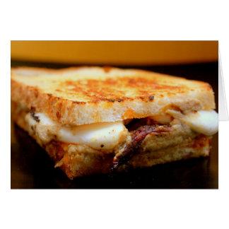 Grilled Mozzarella Sandwich with Smoky Eggplant Card