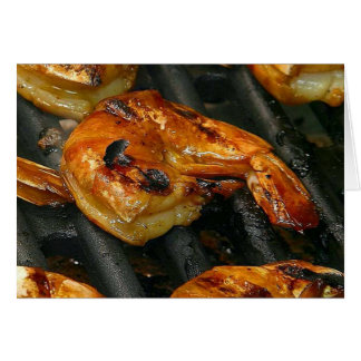 Grilled Shrimp Card